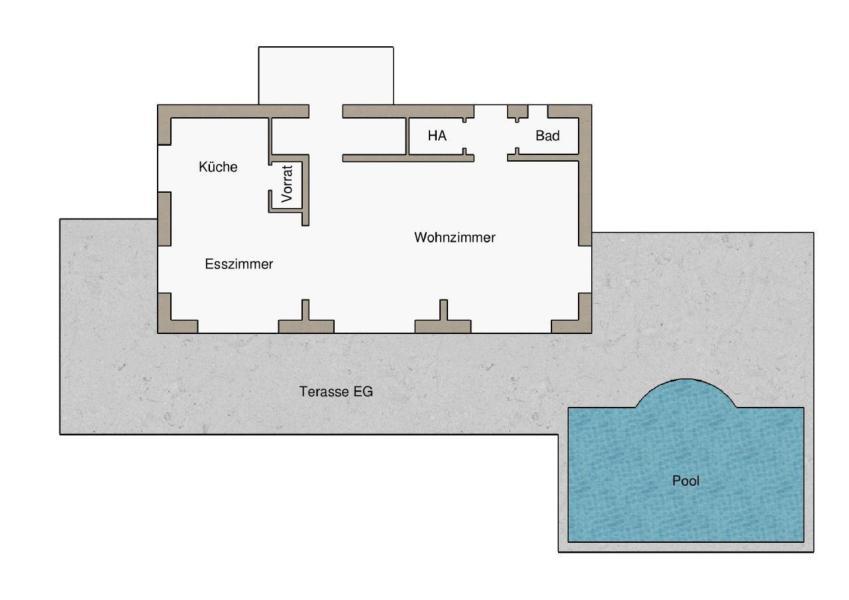 Ferienhaus Villa Diminici - der Zauber Istriens : Wohlfühlen und Entspannen in stilvollem Ambiente mi (2450306), Diminici, , Istrien, Kroatien, Bild 35