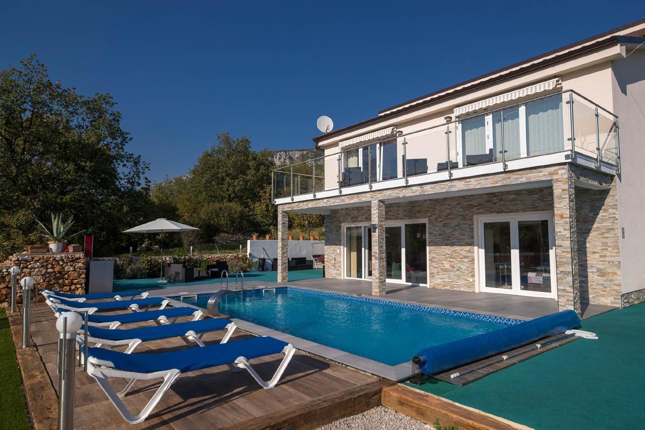 Ferienhaus Villa Monte Adria 5* für 8 bis 10   in Kroatien