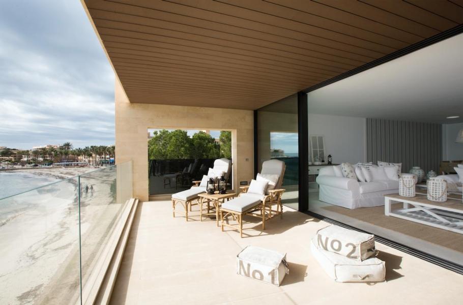 Residencia Parque Playita Luxusapartment direkter Strandzugang eigener Aufzug und Parkplatz ohne Nebenkosten 6P