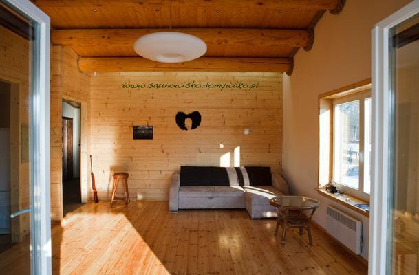 la maison en madriers sauna et jaccuzi feu de bois. Black Bedroom Furniture Sets. Home Design Ideas