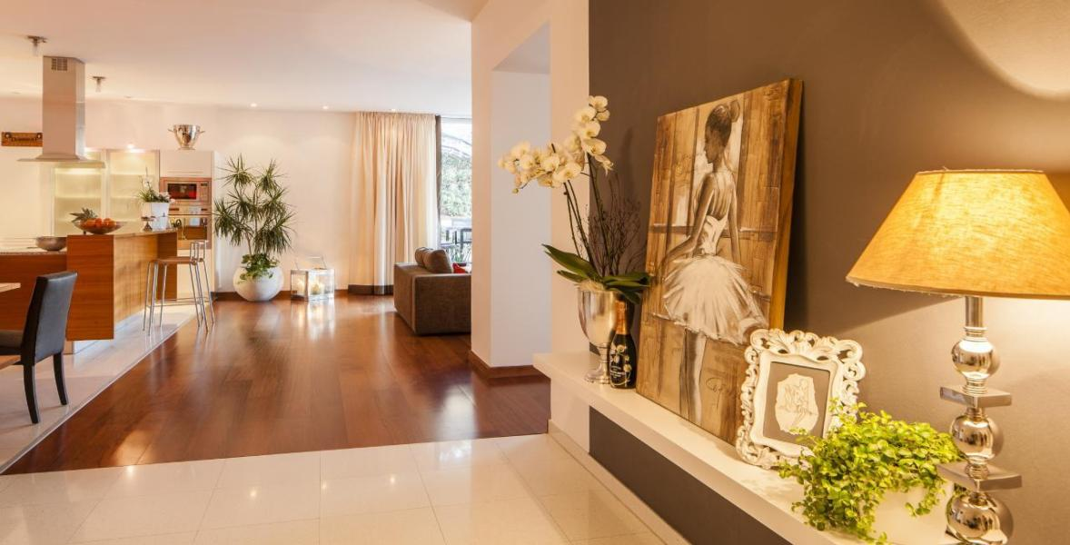 Luxuriöses Panorama Chalet Garten-Apartment mit ...