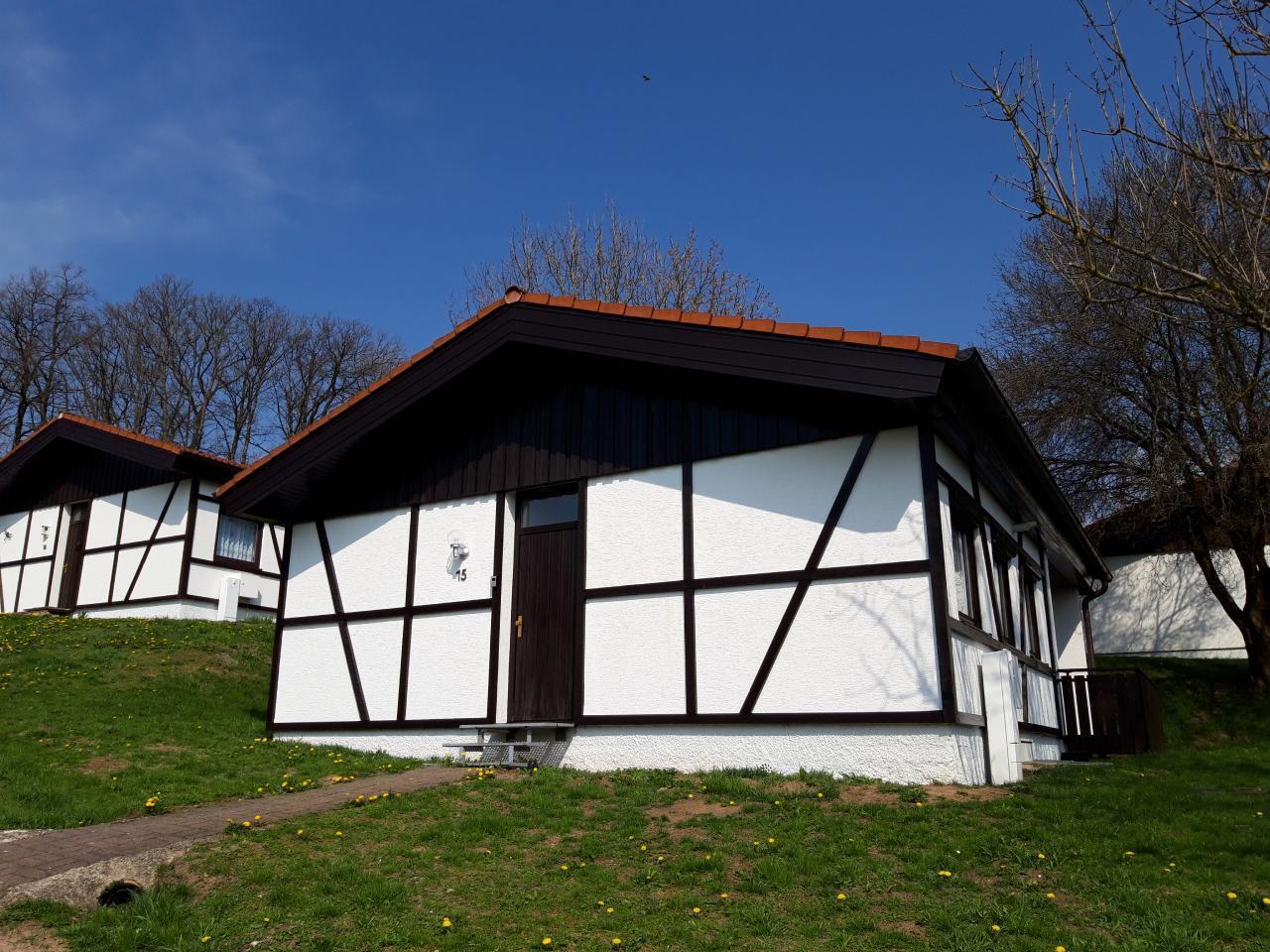 Ferienhaus / Bungalow 15 neu renoviert für 4-   Rhön Spessart